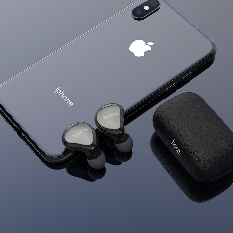 hoco es25 easy talk true wireless earphones small