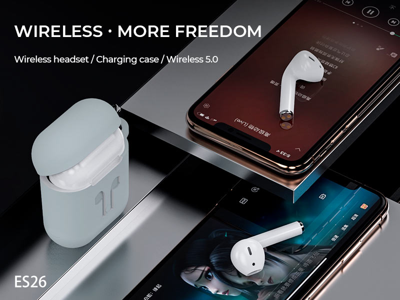hoco es26 original series wireless headset banner en