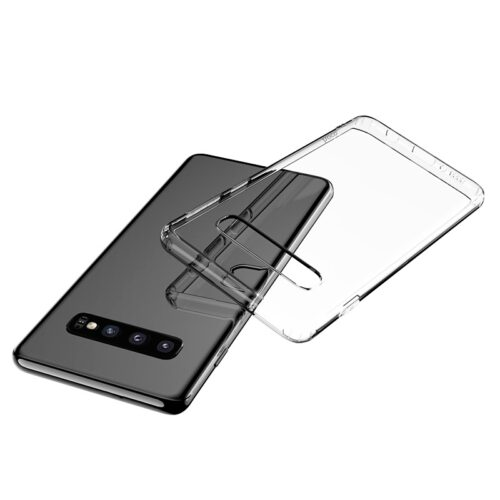 hoco light series tpu case for galaxy s10 clear
