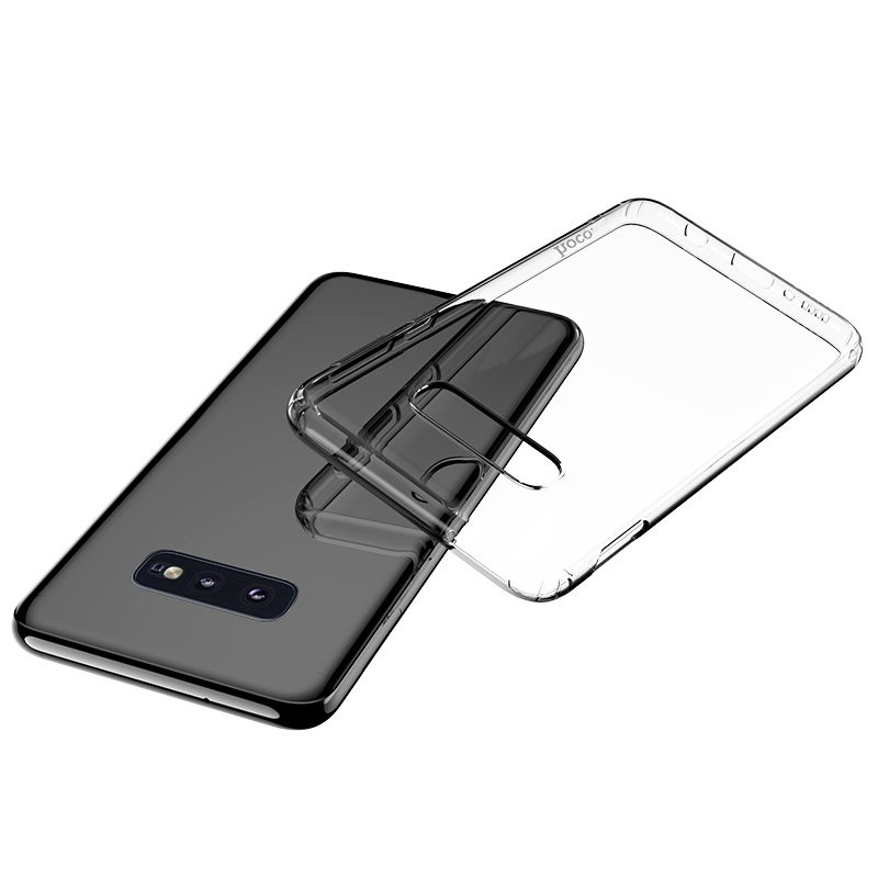 hoco light series tpu case for galaxy s10 e clear