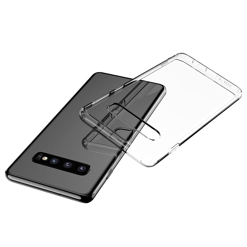hoco light series tpu case for galaxy s10 plus clear
