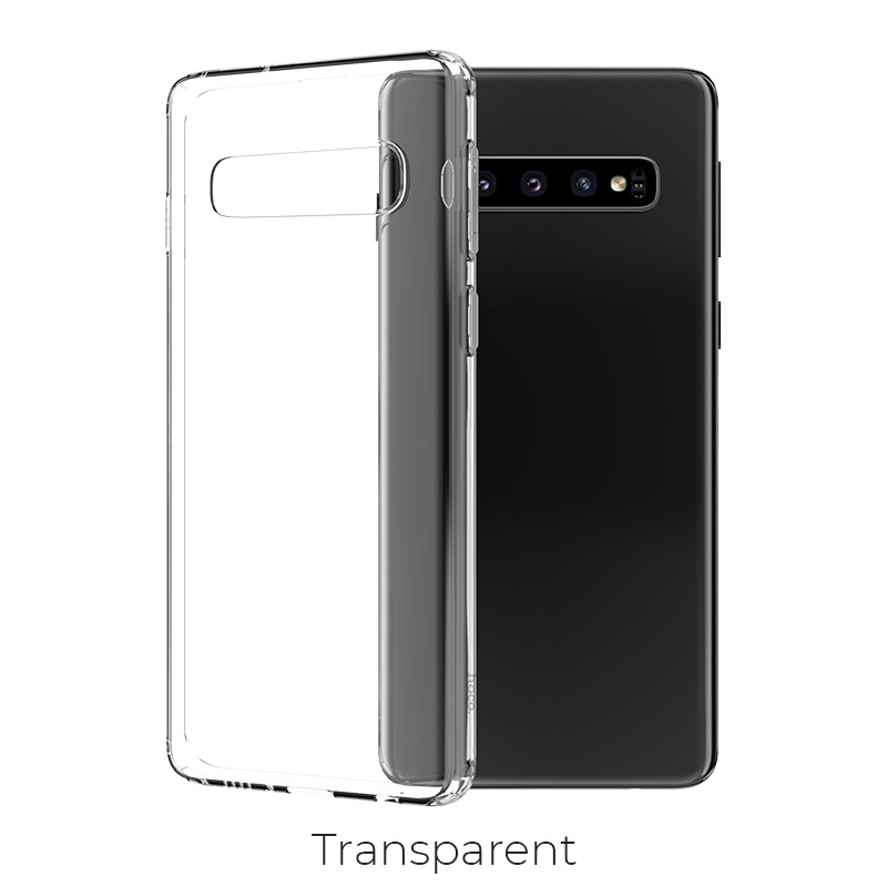 s10 plus light series tpu transparent