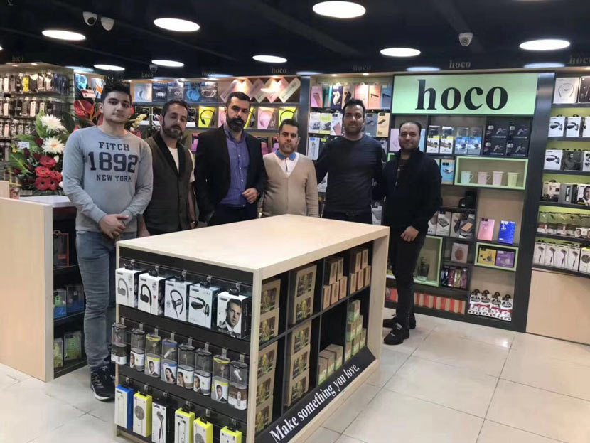 hoco news iran sales leader agent 10
