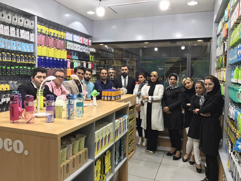 hoco news iran sales leader agent 12