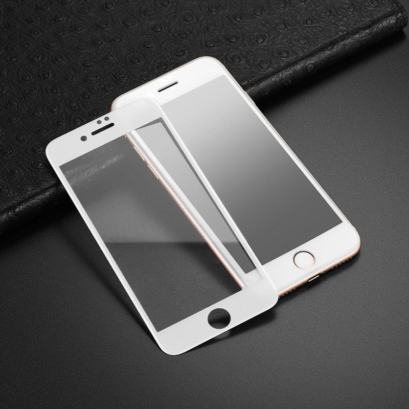 hoco super smooth full screen frosted tempered glass for iphone 7 8 plus a14 clear