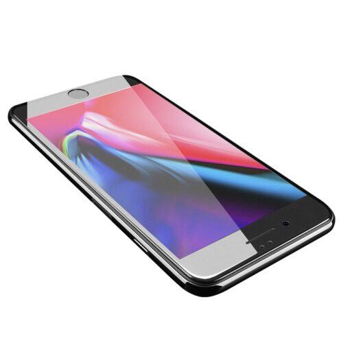浩酷超爽滑全屏磨砂钢化膜iphone 7 8 plus a14 保护