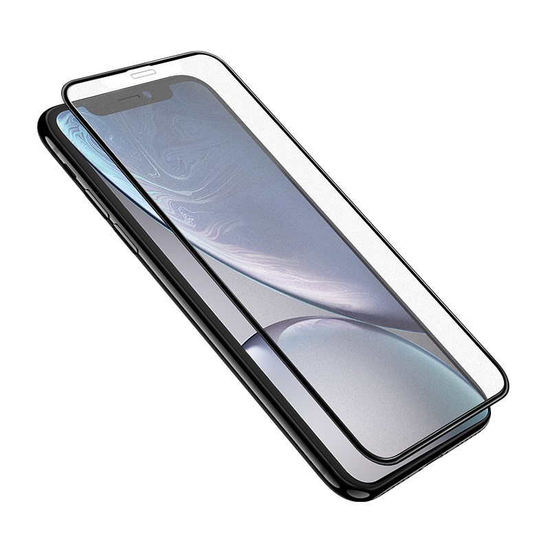 hoco super smooth full screen frosted tempered glass for iphone x xs xr xs max a14 clear
