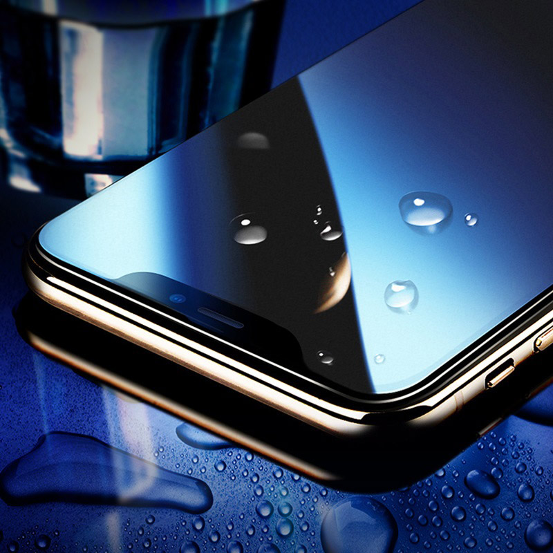 hoco super smooth full screen frosted tempered glass for iphone x xs xr xs max a14 frames