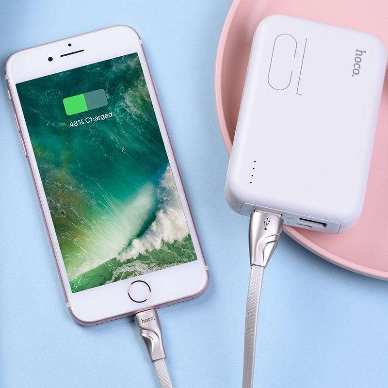hoco u57 lightning twisting charging data cable charger