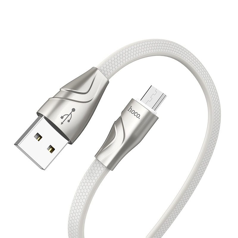 hoco u57 micro usb twisting charging data cable flexible