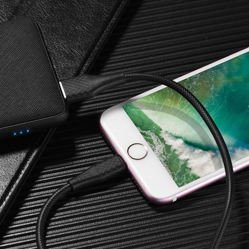 hoco x32 excellent charging data cable for lightning charger