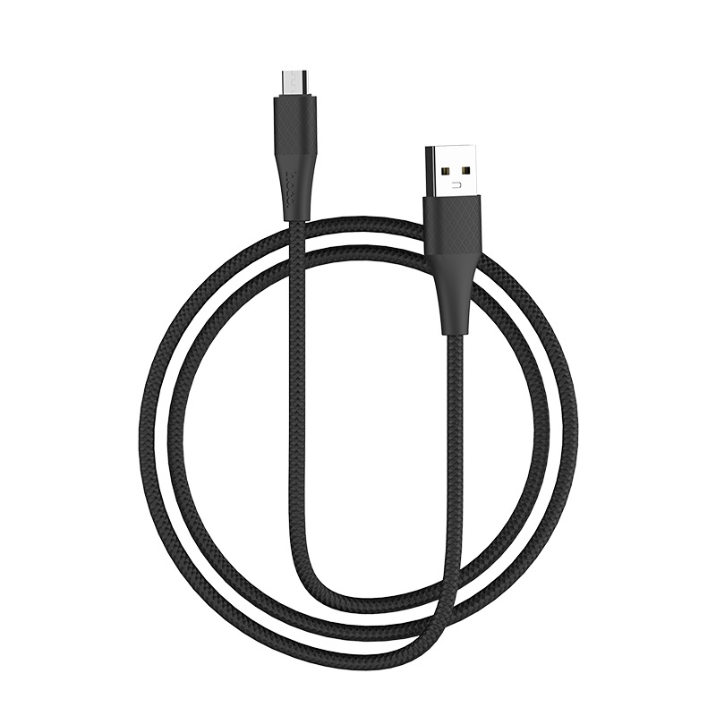hoco x32 excellent charging data cable for micro usb flexible