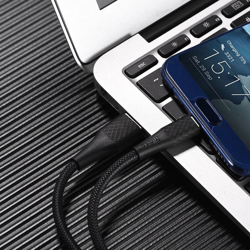 浩酷x32 type c 优创充电数据线 充电