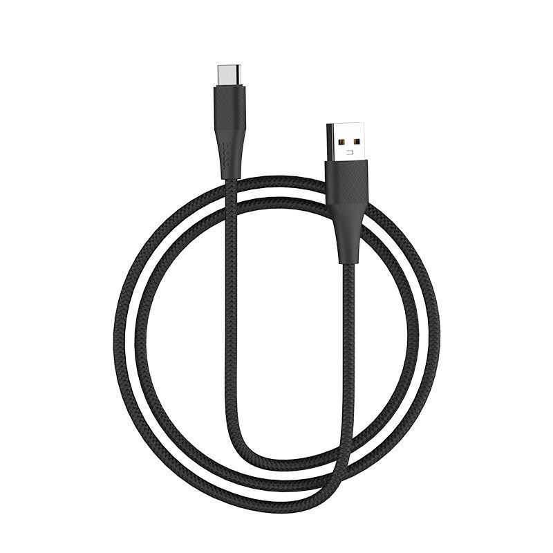 hoco x32 excellent charging data cable for type c flexible
