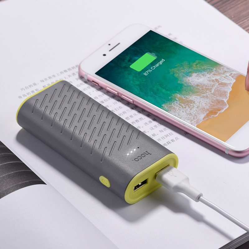 hoco b31c sharp mobile power bank 5200mah charger