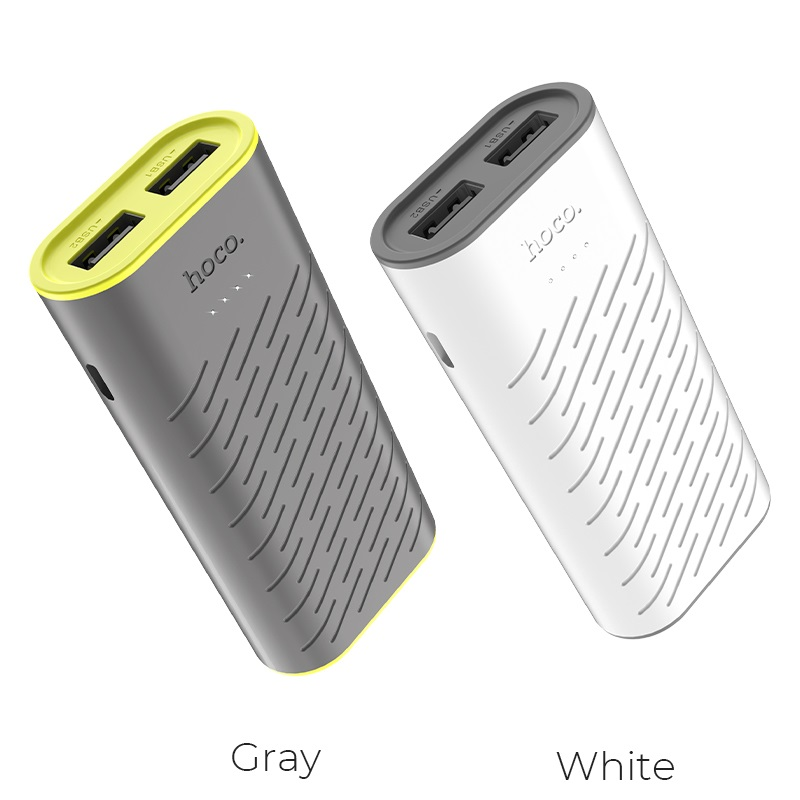 hoco b31c sharp mobile power bank 5200mah colors