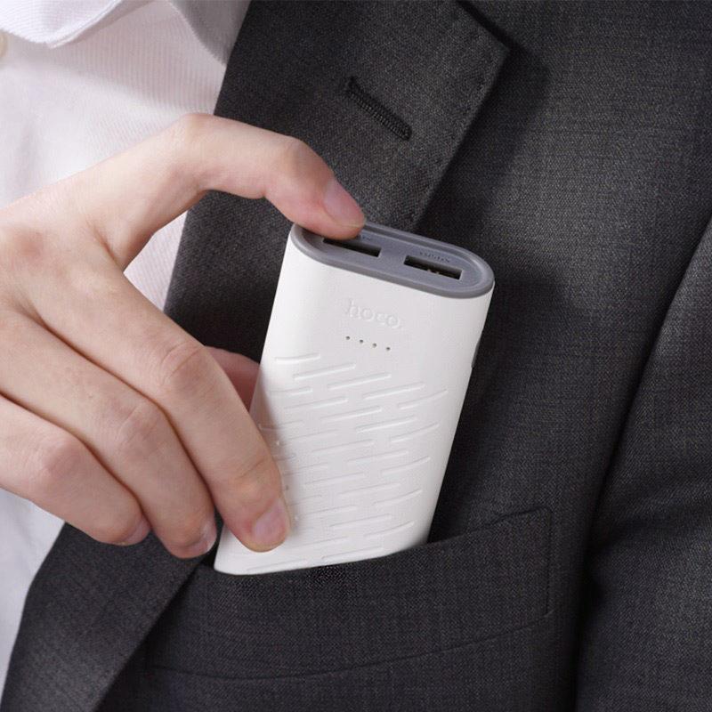 hoco b31c sharp mobile power bank 5200mah portable