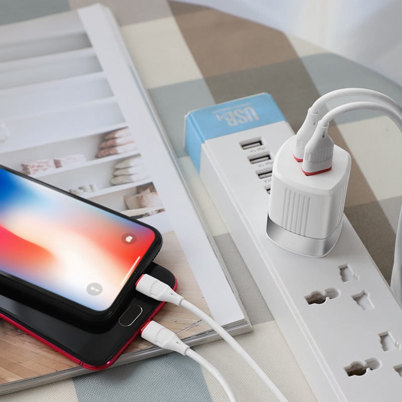hoco c55 energy dual port charger us charging