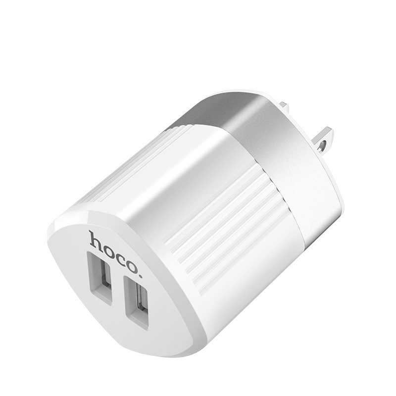 hoco c55 energy dual port charger us usb
