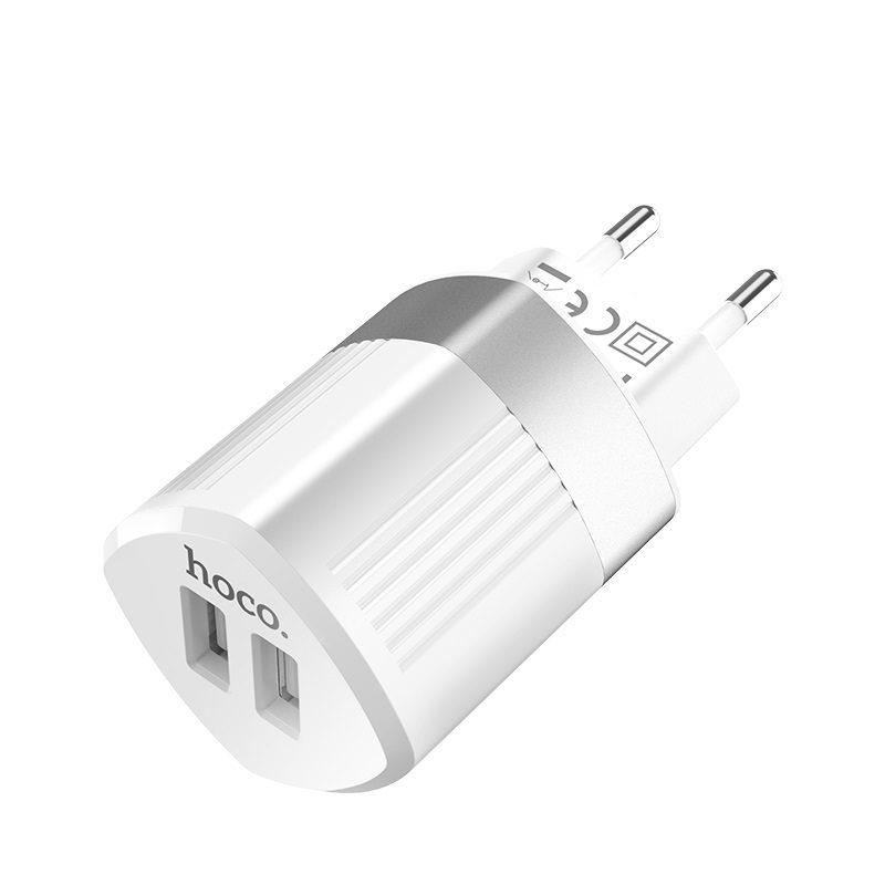 hoco c55a energy dual port charger eu usb