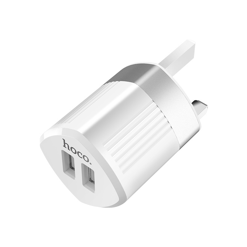 hoco c55b energy dual port charger uk logo