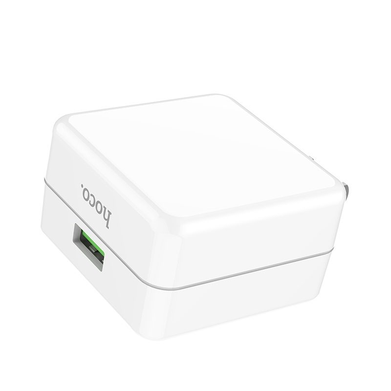 hoco c66 surpass flash fast wall charger us design