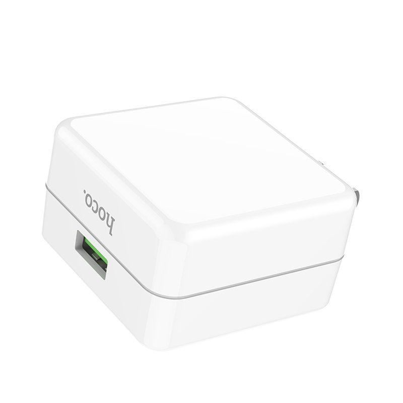 hoco c66 surpass зарядный адаптер для быстрой зарядки us usb дизайн