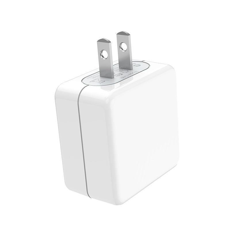 hoco c66 surpass flash fast wall charger us pins