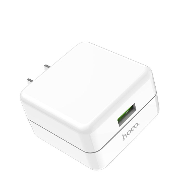 hoco c66 surpass зарядный адаптер для быстрой зарядки us usb