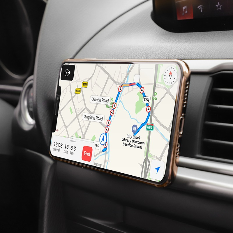 hoco ca47 metal magnetic in car holder for air outlet gps