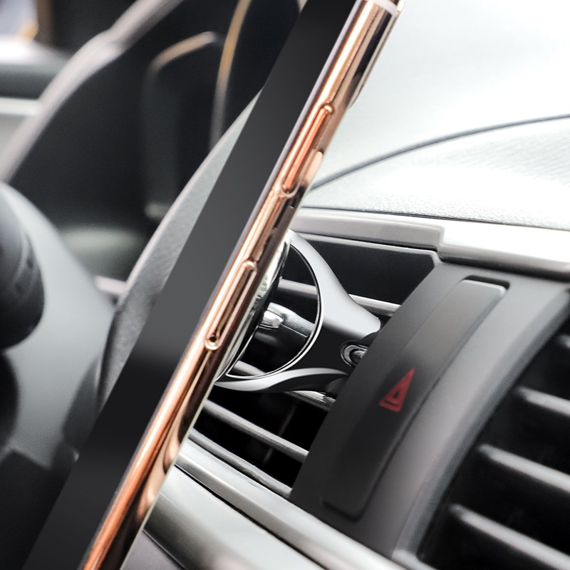 hoco ca49 metal air outlet in car holder bracket