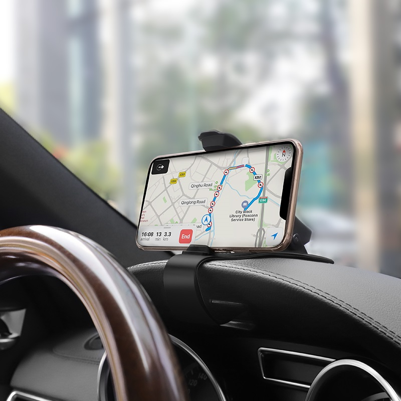 hoco ca50 in car dashboard phone holder gps