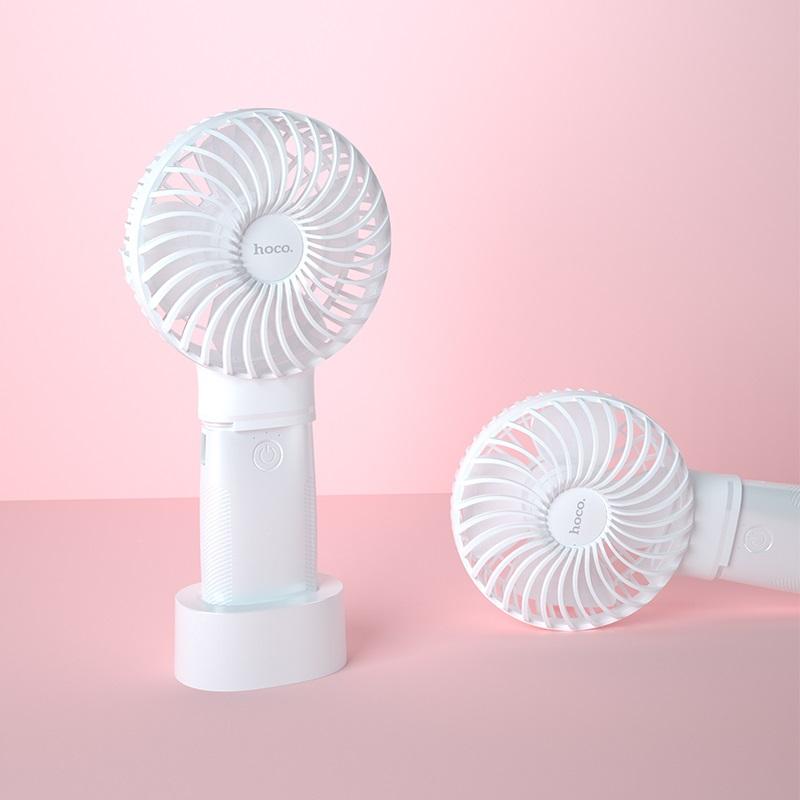 hoco f11 портативный вентилятор с аккумулятором горизонтальный