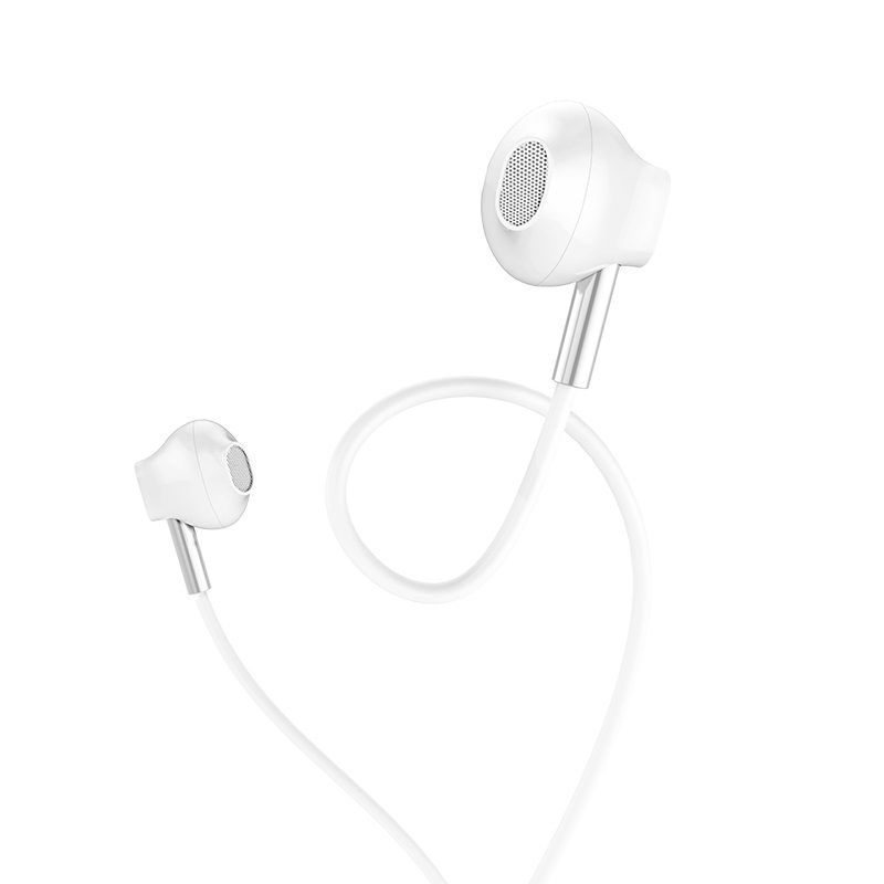 hoco m57 sky sound universal wired earphones with mic mesh