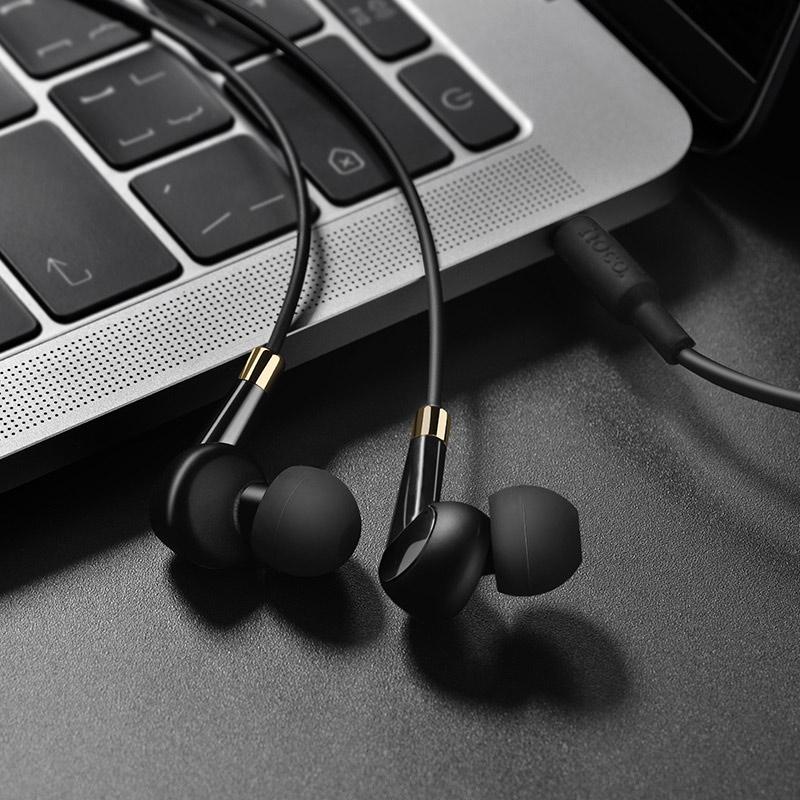 hoco m58 amazing universal earphones with mic overview