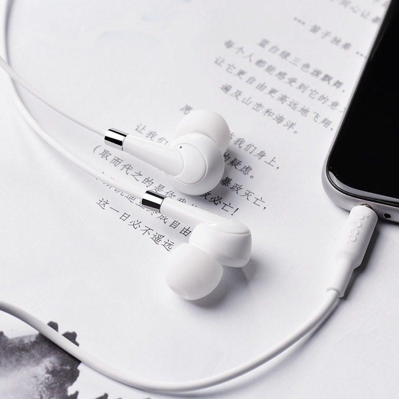 hoco m58 amazing universal earphones with mic phone