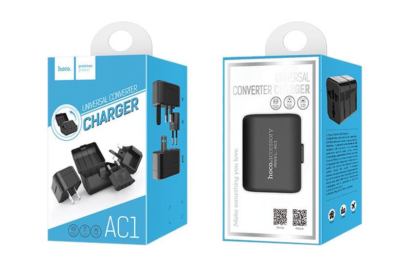 hoco news ac1 universal converter package