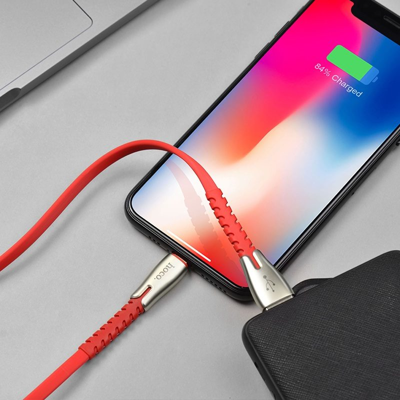 hoco u58 core charging data cable for lightning phone