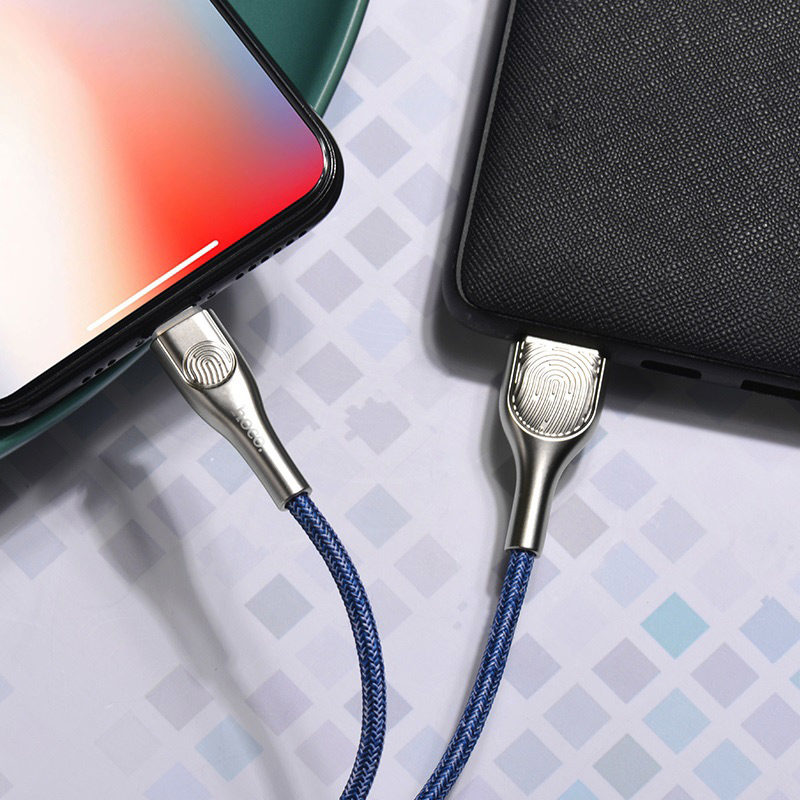 hoco u59 enlightenment charging data cable for lightning charger
