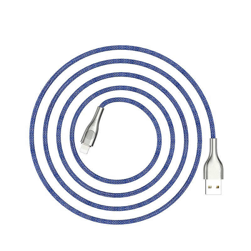 hoco u59 enlightenment charging data cable for lightning flexible