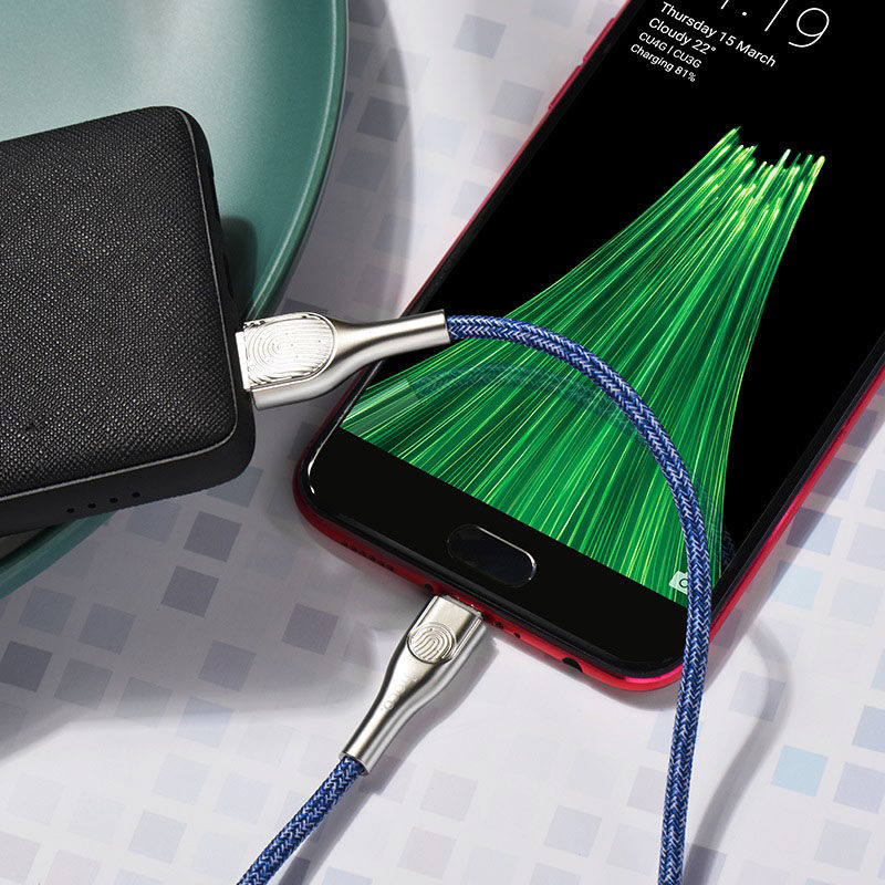 hoco u59 enlightenment charging data cable for micro usb durable