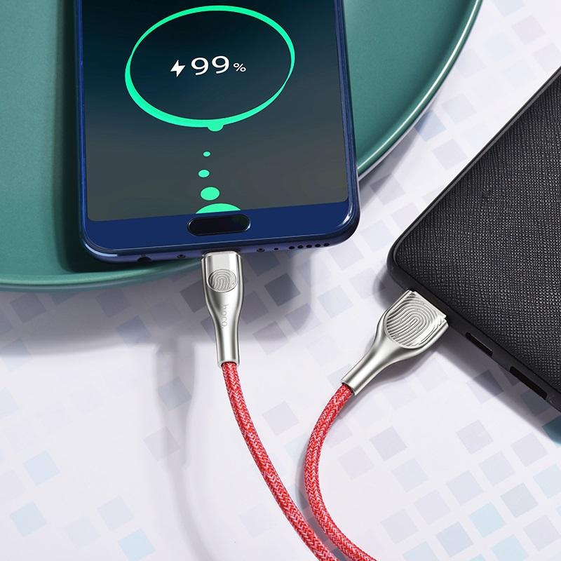 hoco u59 enlightenment зарядный дата кабель для type c телефон