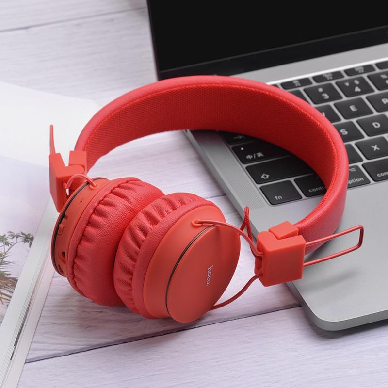 hoco w19 easy move wireless headphones earphones