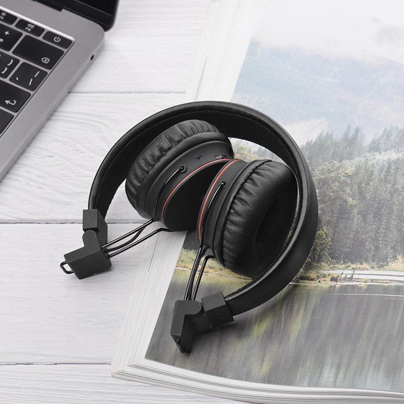 hoco w19 easy move wireless headphones foldable
