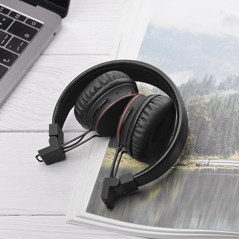 浩酷 w19 歆动无线头戴式耳机 可折叠