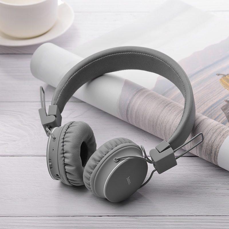 hoco w19 easy move wireless headphones overview