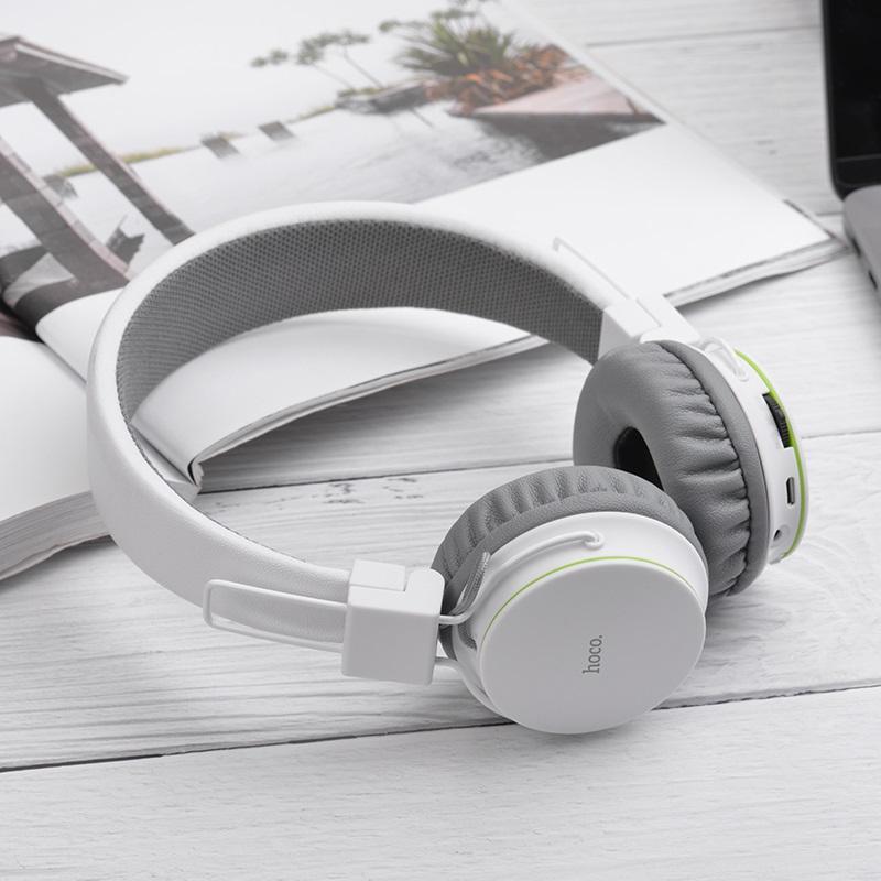 hoco w19 easy move wireless headphones soft