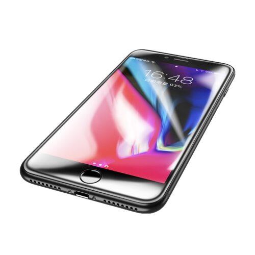 浩酷 a16 防尘高清钢化膜 iphone 7 8 plus 明