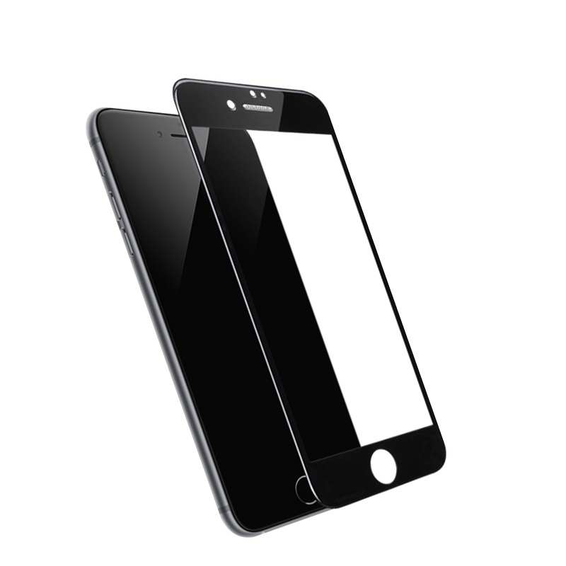 hoco a16 dustproof hd tempered glass for iphone 7 8 plus phone