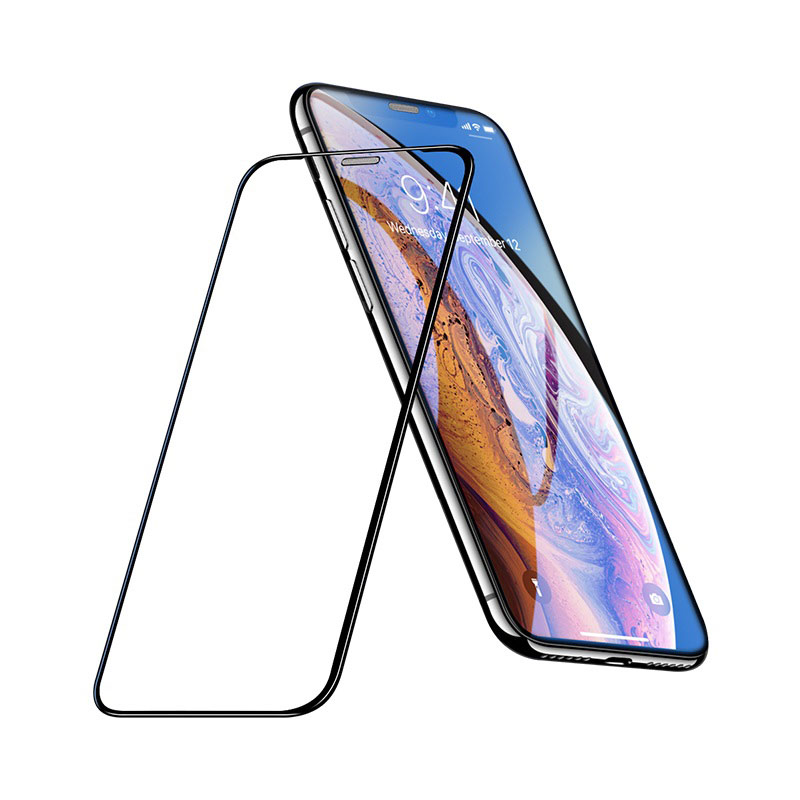 hoco a16 dustproof hd tempered glass for iphone x xs max xr clear